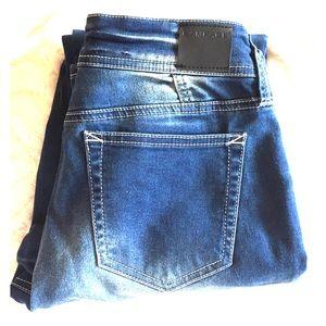 Rampage Size 7 Jeans Boot Cut Medium Wash Denim